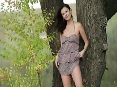 Фрея в лесу