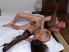 Порно с француженками