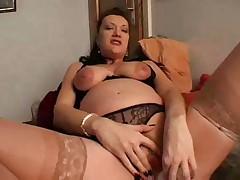 Беременная немка