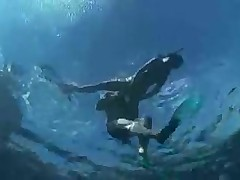 Подводный секс